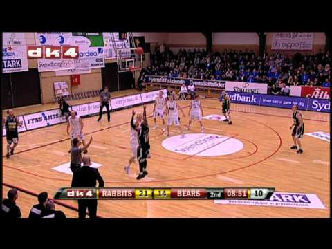 DK4 Highlights: Svendborg Rabbits - Bakken Bears, 24. feb. 2011
