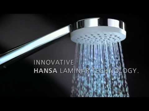 HANSA laminar-flow technology: maximum comfort