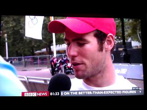 Mark Cavendish not happy with BBC reporter