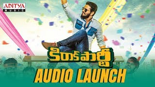 Kirrak Party Audio Launch Full Event |  Kirrak Party Songs | Nikhil Siddharth | Samyuktha | Simran - ADITYAMUSIC