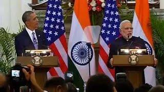 PM Modi – Barack Obama joint press conference - NDTV