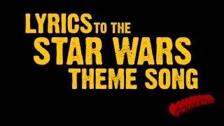 Goldentusk's Star Wars Theme Song Lyrics