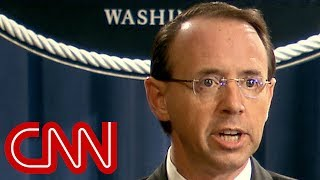 Rosenstein: 12 Russians charged with hacking - CNN