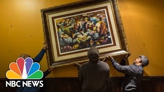 Barber Brings Art To Baltimore Neighborhood   NBC News - NBCNEWS