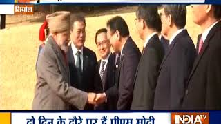 South Korea: Prime Minister Narendra Modi pays tribute at Seoul National Cemetery - INDIATV