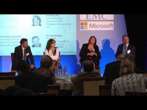 IDC's Healthcare Summit 2013 - 5. Panel Discussion - Eliminating the White Space Integration...
