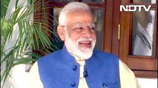 प्रधानमंत्री बनने के सवाल पर पीएम मोदी का जवाब - NDTVINDIA