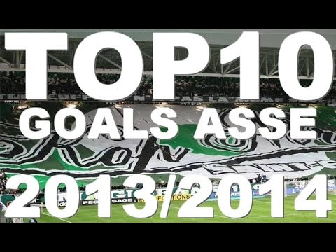 Top 10 Goals ASSE - Season 2013/2014