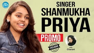 Singer Shanmukha Priya Exclusive Interview - PROMO || Talking Movies With iDream - IDREAMMOVIES