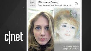 Google's art selfie app won't work in Illinois, Texas - CNETTV