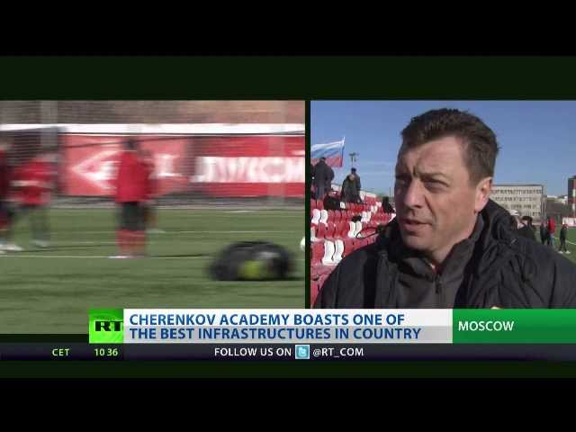 Spartak academy teaches kids to 'live for football'