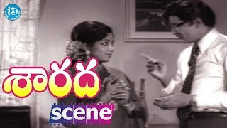 Sarada Movie Scenes - Jayanti Comes To Know About Shobhan Babu's Secret || Sharada - IDREAMMOVIES
