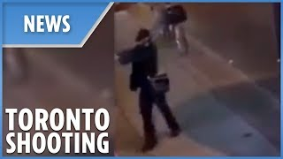 LATEST: the moment gunman opened fire in Toronto - THESUNNEWSPAPER