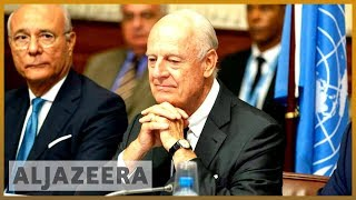 UN Syria envoy Staffan de Mistura to step down in November l Al Jazeera English - ALJAZEERAENGLISH