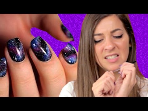 Regular People Try Pinterest Nail Art