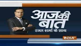 Aaj Ki baat with Rajat Sharma October 22, 2014: BJP leaders want Nitin Gadkari to be made CM - INDIATV