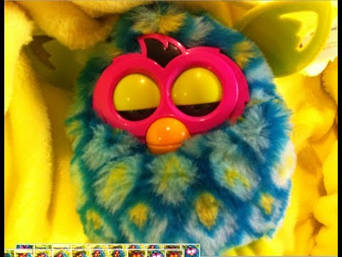 Furby Boom: Making a Sleeping Nest for Your Furby---My Furby is Bibay, what is yours?