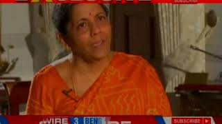 NewsX Exclusive: Defence Minister Nirmala Sitharaman speaks over #MeToo movement - NEWSXLIVE