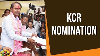 KCR Nomination | Telangana Assembly Polls 2018 | TRS Live Updates 2018 | Mango News - MANGONEWS