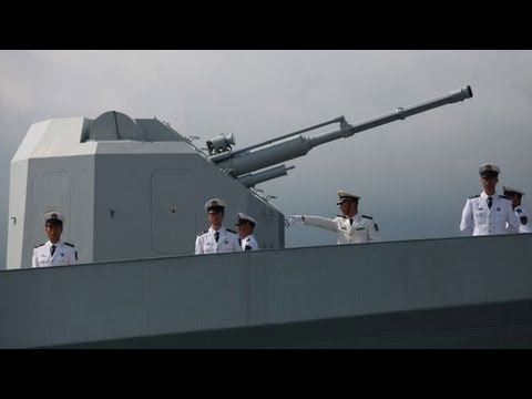 The Road to WW3: China vs Japan -  China holds manoeuvres in disputed islands 