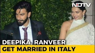 Deepika & Ranveer Are Married! Take A Look At Their Fairytale Love Story - NDTV
