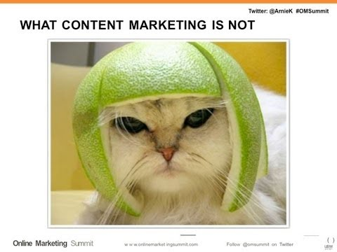 Content Marketing for Search & Social (Arnie Kuenn - Vertical Measures)