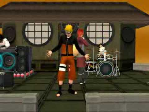 NARUTO sims2 Linkink Park In The End