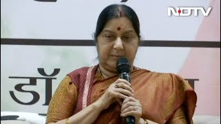 सुषमा स्वराज बोलीं- पाकिस्तान ने दूसरी बार गलती की तो छोडे़ंगे नहीं - NDTVINDIA