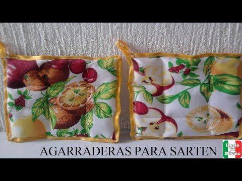 DIY: COMO HACER AGARRADERAS DE COCINA