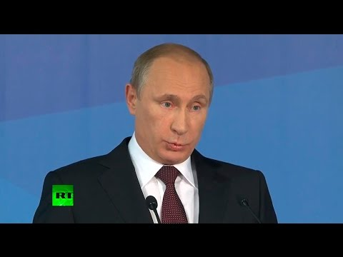 Putin: Doesn't matter who takes place of evil empire in US propaganda - Iran, China or Russia