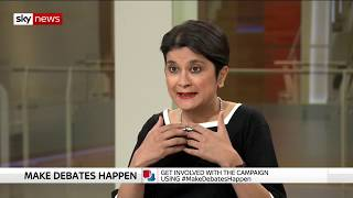 Chakrabarti: Universal Credit is a 'toxic brand' - SKYNEWS