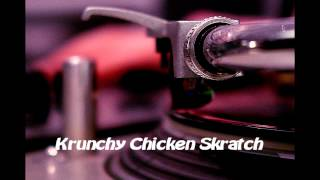 Royalty Free Krunchy Chicken Skratch:Krunchy Chicken Skratch