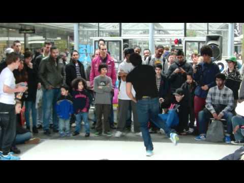 Hiphop op de Lijnbaan Rotterdam (ZigZagCity)
