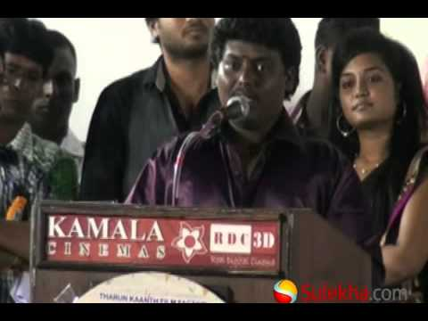 Actor Black Pandi at Velmurugan Borewells Movie Audio Launch