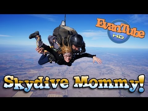SKYDIVING PRANK SURPRISE - MommyTube jumps out of a plane at 13,000 feet!!!
