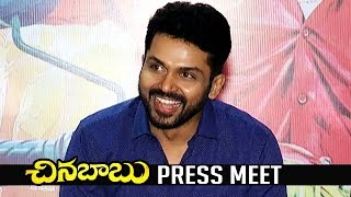 Chinna Babu Release Press Meet | Karthi | Sayesha | TFPC - TFPC