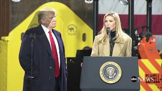Pres. Donald Trump delivers remarks at H&K Equipment Company in Coraopolis, Pennsylvania | ABC News - ABCNEWS
