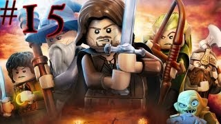 Lego The Lord Of The Rings - Walkthrough - Part 15 - The Spirits Have Got Me!
