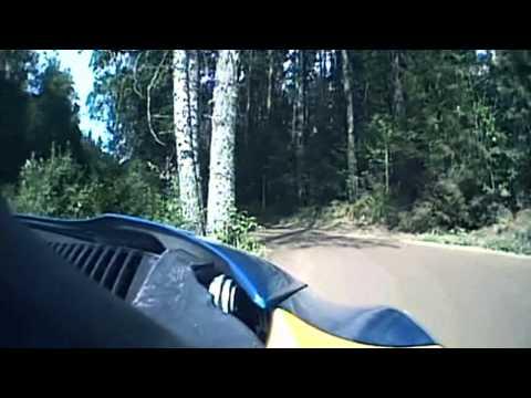 Hirvonen, Loeb & Ogier incar - SS5 Evo WRC Rally Finland 2011