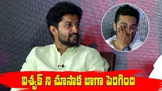 Nani Comments on VishwakSen || HIT Team FUNNY INTERVIEW | Nani | Vishwak Sen | RuhaniSharma - IGTELUGU