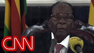 Zimbabwe's Robert Mugabe refuses to resign - CNN