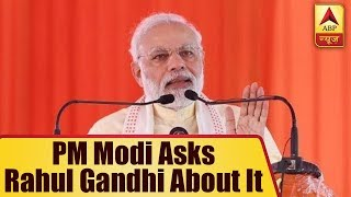 Is Congress only for Muslim men, not women? PM Modi asks Rahul Gandhi - ABPNEWSTV