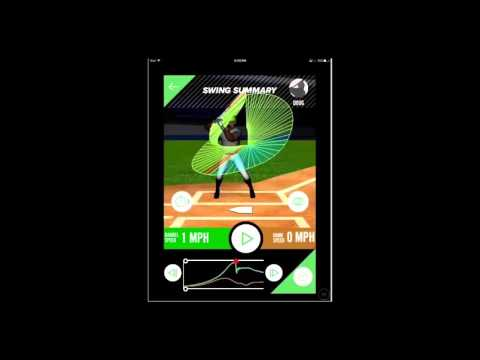 Baseball bat sensor - Swing Tracker sensor and app product review