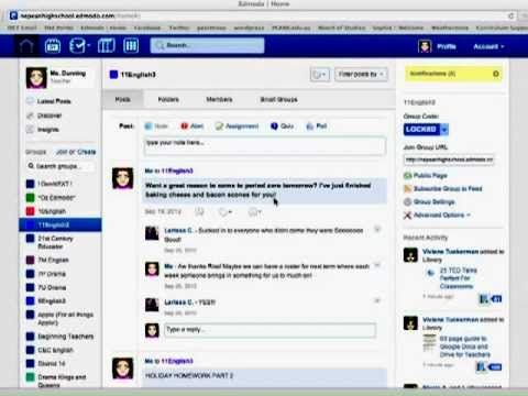 Using the New Edmodo Interface Tutorial