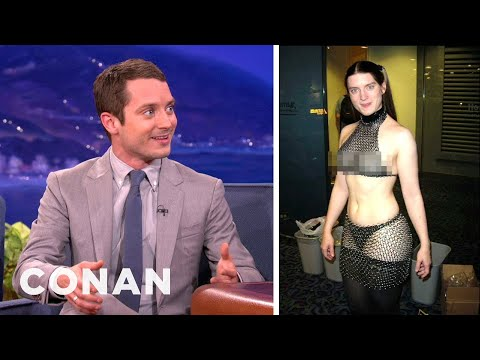 Elijah Wood Gets Gender-Swapped By The Internet
