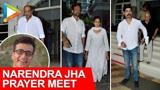 Bollywood Celebs Attend The Prayer Meet Of Actor Narendra Jha - HUNGAMA