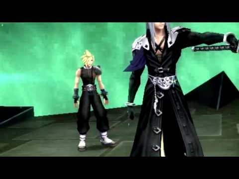[HD]Dissidia 012 Duodecim Cutscene - Cloud save Tifa from Sephiroth