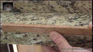 finishing tile tiled trim options countertop v with countertops cap edge counter a