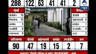 Rajnath, Jaitley and Gadkari arrives for BJP Parliamentary Board meeting - ABPNEWSTV