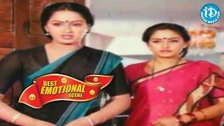 Telugu Movies || Best Emotional Scene || Maha Manishi Movie || Krishna, Jayaprada, Radha - IDREAMMOVIES